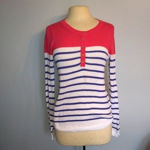 Lilly Pulitzer | Long Sleeve Stripe Sweater Small